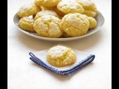 Recette Ghriyba à la noix de coco  حلويات مغربية : غريبة بجوز الهند (+pl...