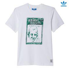 CAMISETA ARTIST STAN SMITH TONGUE LABEL. El creador japonés de tendencias, Nigo, declara su amor por adidas Originals. Esta camiseta para hombre reinterpreta la emblemática etiqueta de la lengüeta de la zapatilla Stan Smith con un estampado de acuarela pintada a mano. adidas Artist Stan Smith AJ5204 http://www.srbalon.com/nigo/adidas-artist-stan-smith-aj5204