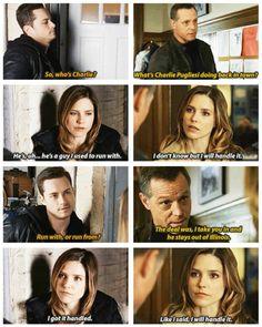 """Don't do backwards, Erin…"" - Chicago PD 1x13"
