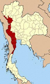 Fabio in Thailandia.: Thailandia: l'ovest.