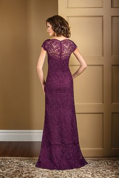 LACE - Mother of the bride dress.