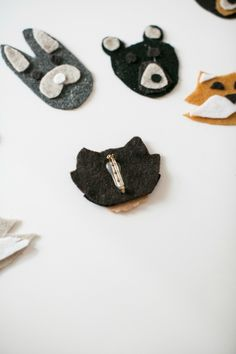 Keep the Kiddos Entertained This Holiday with DIY Felt Animal Pins