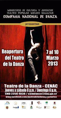 El Teatro de la Danza reabre este fin de semana