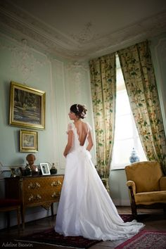 Robes de Mariée Adeline Bauwin, wedding dress, bride, mariage