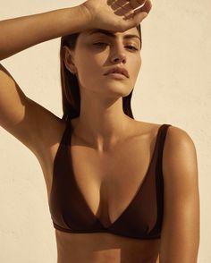 Phoebe Tonkin photographed by Alexandra Nataf for Matteau Swim