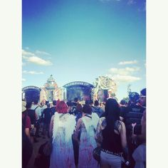 Two angels spotted at #Hellfest #HellfestOpenAir2015