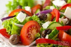 Salada e surpresa