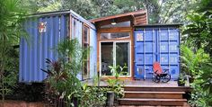 It Looks Old And Rusty, But Inside This Shipping Container Is A Ravishing Home!