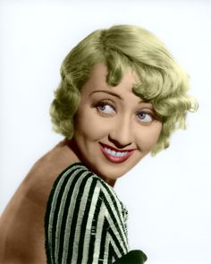 Joan Blondell (August 1906 - December American actress (o. from the movie 'Grease'). Hollywood Actor, Golden Age Of Hollywood, Vintage Hollywood, Hollywood Stars, Classic Hollywood, Hollywood Actresses, Harlem Renaissance, Classic Movie Stars, Classic Movies