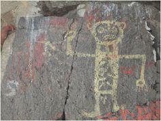 """La pintura rupestre de Pucakaka puede ser la más antigua que la caverna de """"El Guitarrero"""" de Shupluy; distrito de Tingua-Yungay, Lauricocha-Huánuco, Toquepala-Tacna, que dieron origen a los primeros habitantes de la cultura Chavin, Recuay, Sechin, Caral, Chimu y Moche."""