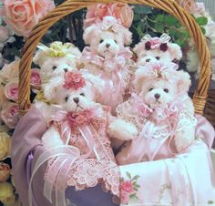Collectible Victorian Teddy Bears