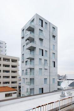 Hideaki Takayanagi architects   Apartamentos Tashiro 71   Nagoya, Japón   2014
