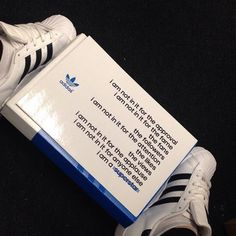 The classic Adidas Superstar Foundation trainers are about more than just the shoes. @caroline_horgan