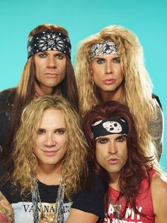 Steel Panther & Battle Tapes performed on Wednesday, May 18 at Fonda Theatre Steel Panther, 80s Rock Bands, 80s Hair Bands, Rock N Roll Music, Rock And Roll, Fonda Theater, Theatre, 80s Hair Metal, Band Wallpapers