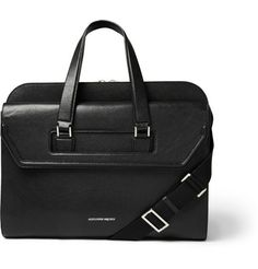 Alexander McQueen Heroic Leather Briefcase | MR PORTER
