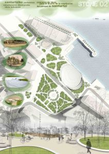 lur paisajistak | Concurso de Ideas Parque | Santurtzi