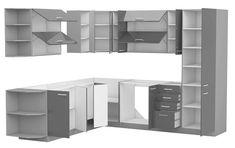 Set de bucatarie UPA1 Design Case, Shelving, Led, Furniture, Appointments, Home Decor, Blue Prints, Shelves, Decoration Home