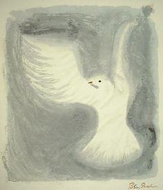 Ben Shahn  - how the birds fly 57×46㎝