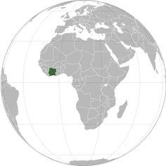 Costa d'Avorio - Localizzazione  patimomo a mi llego