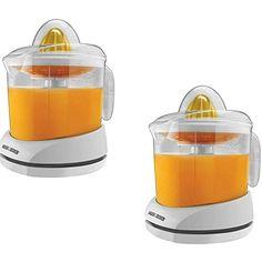BLACK  DECKER34 oz White Citrus Juicer CJ625 Set of 2 Gift Bundle >>> For more information, visit image link. (This is an affiliate link)
