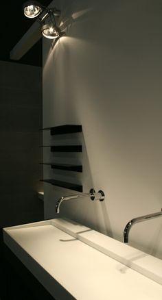 Salle de bain avec un grand lavabo | Salle de bain | Pinterest