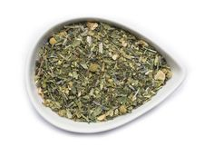 Mountain Rose Herbs: Fairytale TeaDelightful and inspiring; this blend is full of flowers and fairy magic, with a little hint of mint. This refreshing complement to story time can be sipped both hot and iced.  Contains: organic Calendula flowers, organic Red Clover herb, organic Spearmint leaf, organic Lavender flowers, organic Lemon Balm, organic Catnip, organic Oatstraw, organic Lemon peel, organic Skullcap, organic Chamomile flowers, organic Thyme, and organic Stevia.