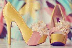 Adorable Bow Heels