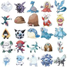 Every ice pokemon wallpaper by lvstarlitsky on deviantart pokemon ice type pokemon can you name the ice type pokemon pictures sciox Choice Image