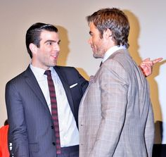 Chris Pine and Zachary Quinto - 'Star Trek Into Darkness' Premieres in Tokyo