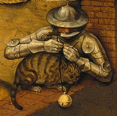 Pieter+Bruegel+the+Elder,+The+Dutch+Proverbs+(detail+II)+on+ArtStack+#pieter-bruegel-the-elder+#art