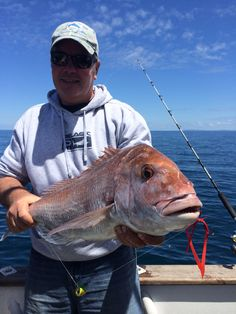 Lance with a big snapper