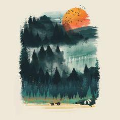 Wilderness by dandingeroz on DeviantArt