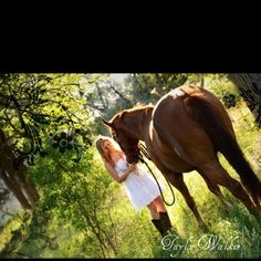 I need a picture like this with my horse