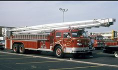 Fire Apparatus, Red Army, Fire Trucks, Snorkeling, Towers, Ems, Wwii, Platform, American