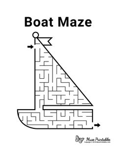 Word Puzzles For Kids, Mazes For Kids Printable, Worksheets For Kids, Free Printables, Maze Puzzles, Maze Book, Preschool Activities At Home, Maze Worksheet, Transportation Activities