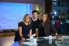 Fun morning! @KeithUrban @sam_armytage @sunriseon7