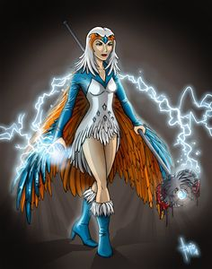 he-man sorceress | Sorceress of Grayskull by FlyToFerio on deviantART