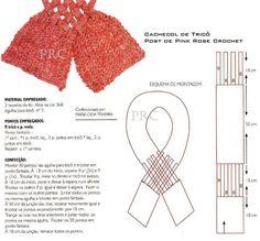 Receita de Tricô: Dois modelos de cachecol trançado de tricô