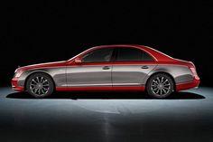 Новый Maybach 57S Red