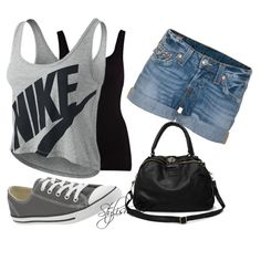 """""""Girly Outfit !"""" by stylisheve on Polyvore"""