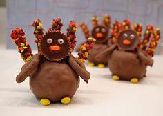 18 edible turkey crafts!