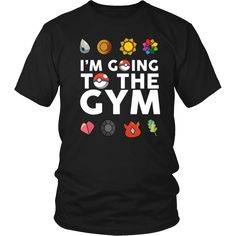 Don't you want to hit the gym in this Pokemon shirt?