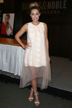Lauren Conrad's outfit at the Los Angeles Infamous book signing #LaurenConrad