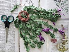PriePraat: De Lidcactus Crochet Cactus, Crochet Art, Crochet Toys, Crochet Flower Patterns, Crochet Flowers, Fabric Flowers, Crochet Stitches Free, Crochet Squares, Crochet Plant Hanger