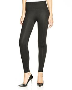 SPANX Women's Essential Leggings, Very Black, Large: High-rise shapewear leggings from SPANX. Built-in shaping at stomach, thighs, and rear. Printed Leggings, Black Leggings, Women's Leggings, Leggings Negros, Tummy Control Leggings, Spanx, Women Brands, Leggings Fashion, Looking For Women