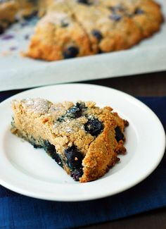 The BEST Blueberry Scones - super moist, tender and packed with flavor in every bite. The whole family couldn't even tell they were healthy and low carb.