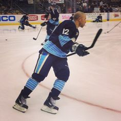 Jarome Iginla's first game as a member of the Pittsburgh Penguins 3/30/13