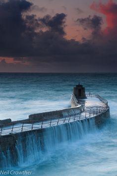 Portreath Harbour - Cornwall Mining Landscape (UNESCO World Heritage Site)