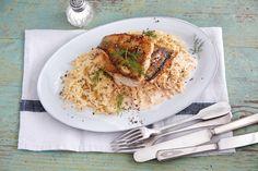 45 schnelle Gerichte unter 400 Kalorien | Küchengötter Sauerkraut, Risotto, Spaghetti, Keto, Ethnic Recipes, Food, Winter, Roast, Cooking
