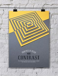 Colorful Paper Art Arrangements Convey Ten Principles of Design - My Modern Met